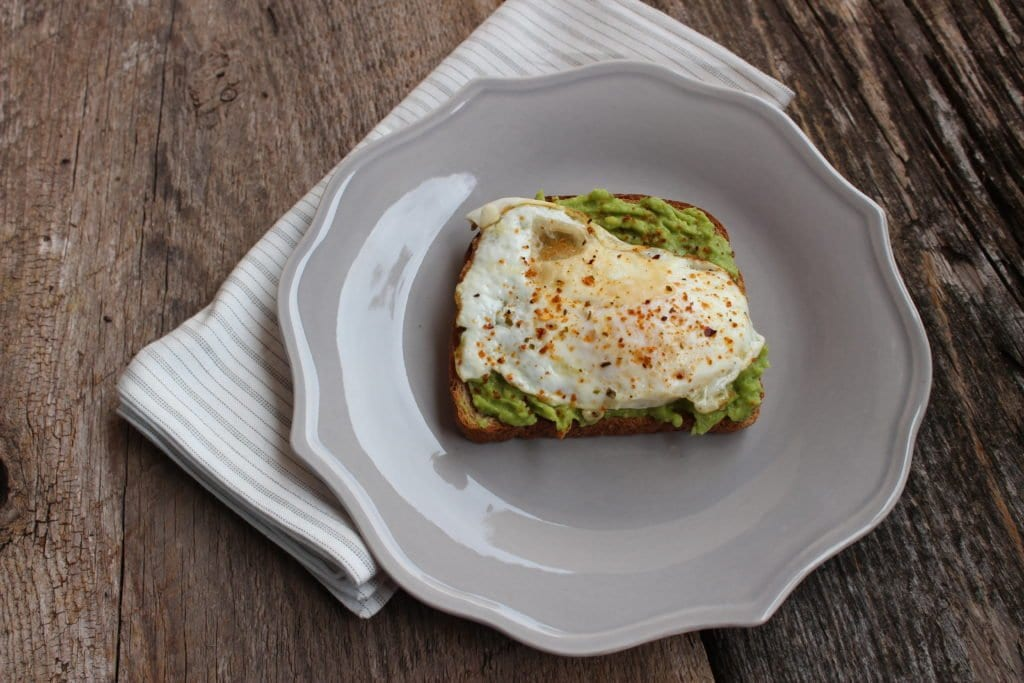 easy avocado toast