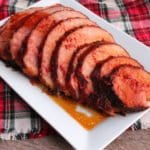 slow cooker holiday ham