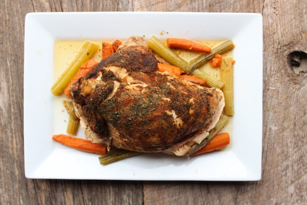 slow cooker holiday turkey