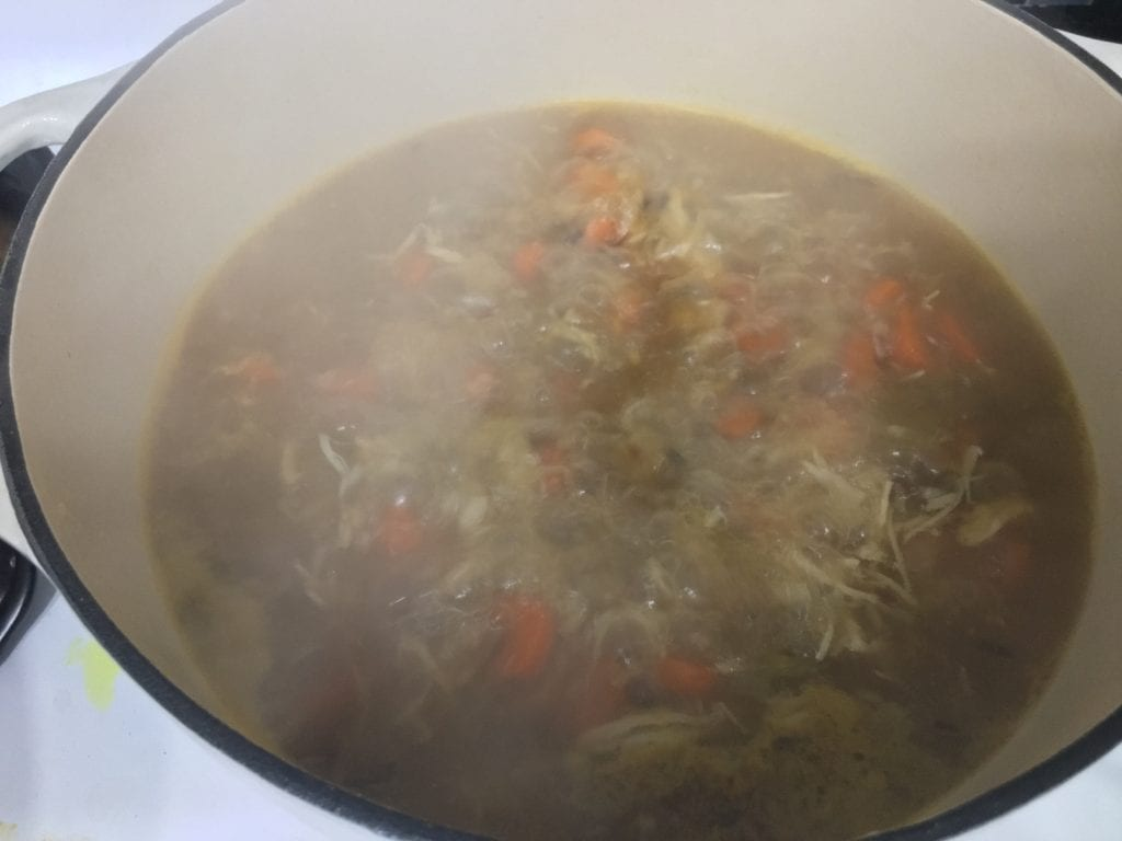 chicken & wild rice soup