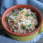 easy refried beans