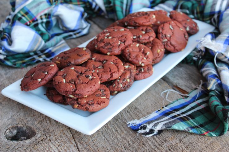 Chewy Chocolate Peppermint Cookies The Speedy Spatula